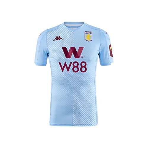 Kappa Trikot Kombat Pro Aston Villa FC Away 19/20 - Man Gr. XL, hellblau