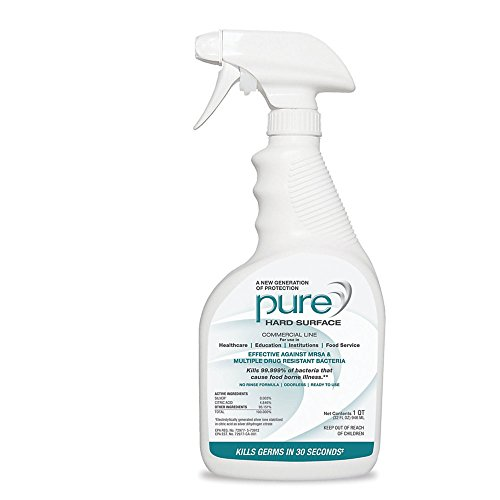 PURE Hard Surface Disinfectant and Sanitizer, 32 Oz.