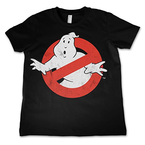 Ghostbusters Officially Licensed Merchandise Distressed Logo Unisex Kids T Shirts Ages 3-12 Years Distressed Logo Kids T-shirt