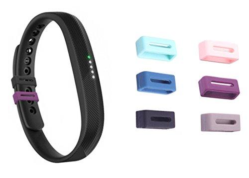 NEO+ Silikon Schrauben für Fitbit Flex 2, Fix der Verschluss Beim herunterfallen Problem- Ein Muss für Fitbit Flex 2 , Set of 6 Hollow