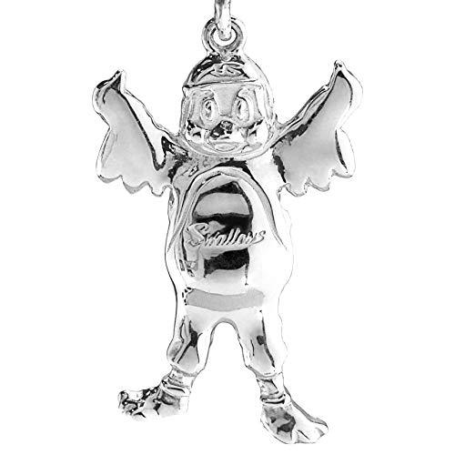 つば九郎 つばにぃ~ シルバーネックレス レディース ペンダント アクセサリー 日本製 東京ヤクルトスワローズ プレゼント ギフト