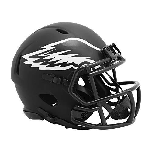Riddell Philadelphia Eagles 2020 Black Revolution Speed - Casco de fútbol