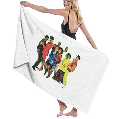 U/K Una toalla de baño de 90s World is Different de secado rápido