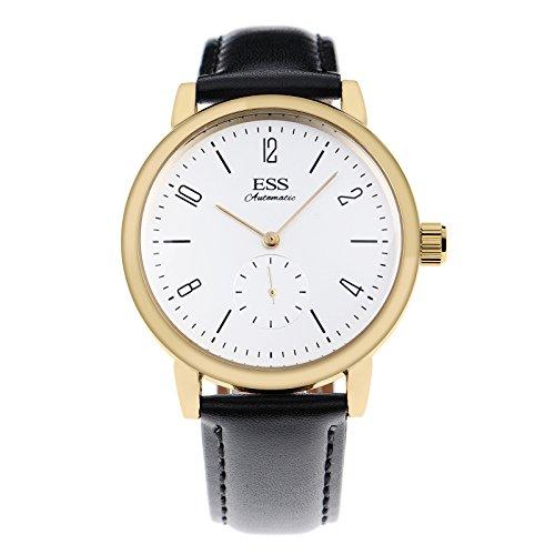 ESS Herren Selbstaufzug mechanische Uhr Automatik Uhren Geschäft Lässig Uhren