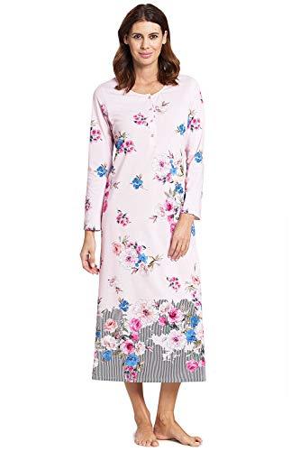 Rösch Damen Nachtkleid im floralen Druck Harmony, New Romance, 1193591 48 Placed Print