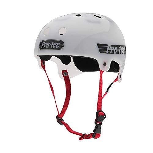 Pro-Tec Full Cut Skate Helmet, Gloss Black, Small