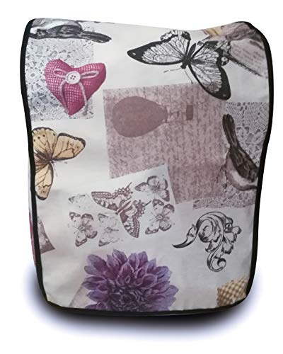 Funda antimanchas para Thermomix TM31 & TM5 & TM6 FLORES Y MARIPOSAS