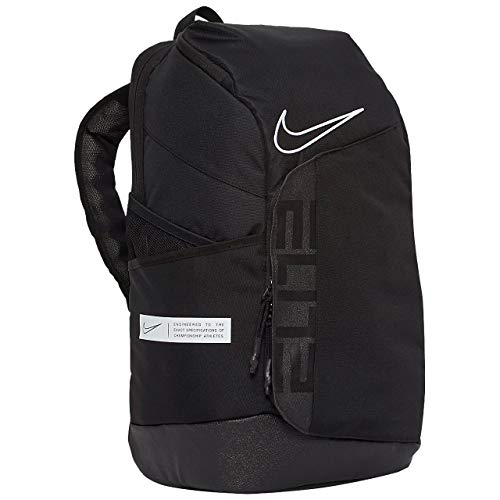Nike Elite Pro Basketball Backpack BA6164 One Size (BLACK/BLACK/WHITE)