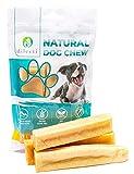 Dilecti Masticable Natural del Himalaya - ¡Juguete masticable para Perros de Larga duración! ¡Los palitos masticables para Perros no contienen OMG ni Gluten! (Juego de 3, Talla L)