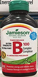 Jamieson Timed Release B100 Complex, 225 caplets