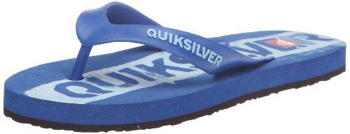 Quiksilver Little QUIK SIGN KMBSL273, Jungen Sandalen/Zehentrenner, Blau (Blu/Lbl/Blu Blbs), EU 34 (UK 2) (US 3)