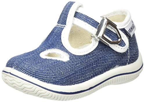 PRIMIGI Baby Jungen Scarpa PRIMI PASSI Bambino Sneaker, Blau (Denim 5350044), 18 EU
