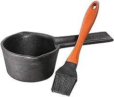 Küchenprofi 1066701000 BBQ zestaw do marynaty BBQ KP1066701000 szczypce do serwowania, żeliwo