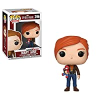 Funko Pop Marvel Games: Spider-Man Video Game - Mary Jane Collectible Figure, Multicolor