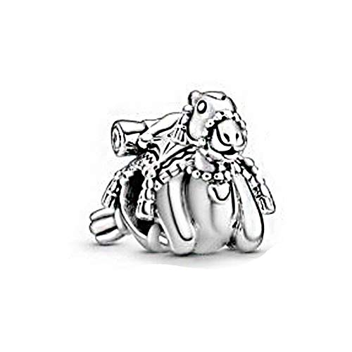 Diy Fits For Original Pandora Bracelets 925 Sterling Silver Travel Exclusives Color Camel Tassels Charms Beads Fit Women Jewelry Christmas Gift