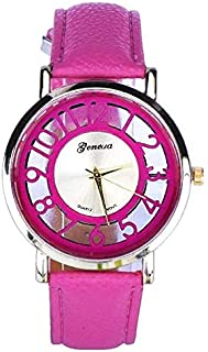 Geneva Casual Watch For Women Analog Leather - 0B652