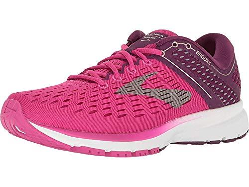 Brooks Women's Ravenna 9 Running Shoes, Multicolour (Pink/Plum/Champagne 630), 3.5 UK