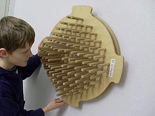 Klangrad   drehbares Wandelement   Material  Holz   Durchmesser  49 cm   Made in Germany   3+