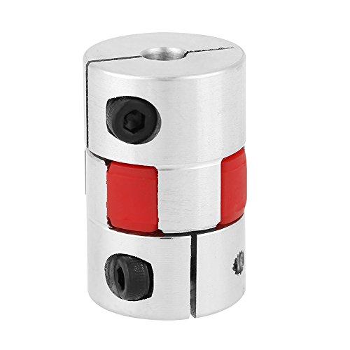 Flexible Kupplung Wellenkupplung D20 L25 Motor Koppler Aluminiumlegierung Joint Connector für DIY Encoder 5mm * 8mm