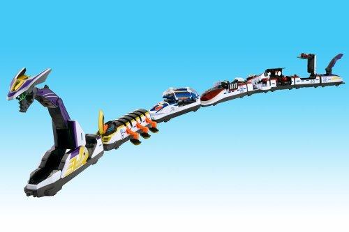 仮面ライダー電王 アクションライナーシリーズ01~08 集合!デンライナー8両セット