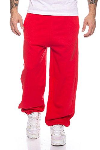 Finchman 79O1 Herren Jogginghose Baggysweat Pant Rot Gr. XL