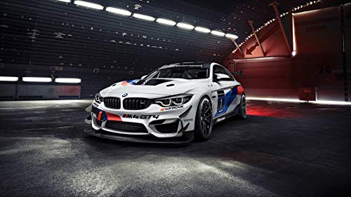 BMW M4 GTS Poster XXL 61x91'5cm