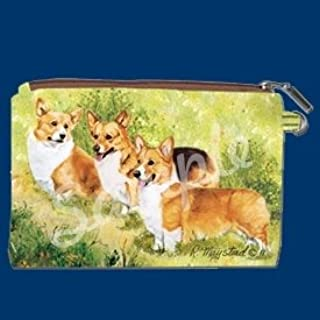 WELSH CORGI Zippered Pouch by Maystead full color both sides