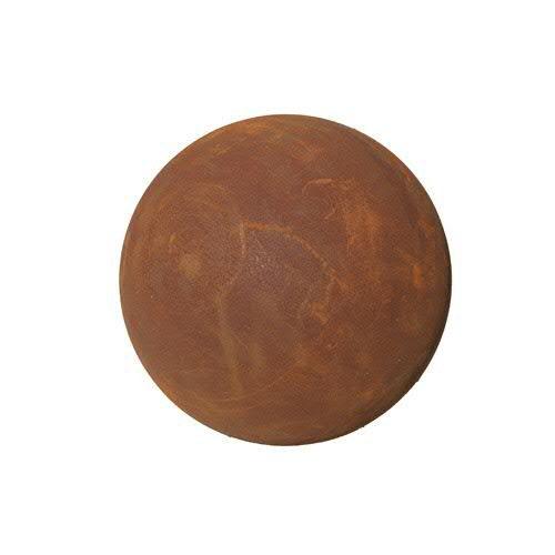 Sencillo & rostige Jardín bola/bola decorativa–Impermeable & Frost seguro–Metal/oxidado/–Somier con bola/metal para decoración en jardín/Jardín Decoración