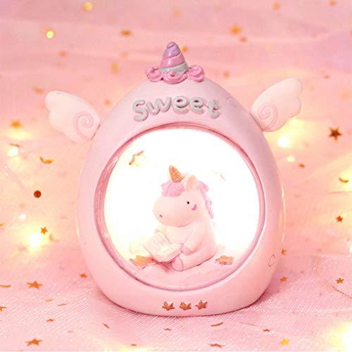 GJWHENS La Noche de la lámpara de la batería del envío Libre para Estrella de la lámpara lámpara de la mesilla lámpara Linda de los niños lámpara de Mesa de Dormitorio de bebé para bedroomLED,A