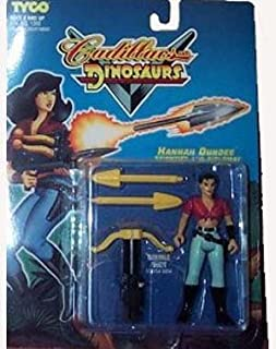 Cadillacs and Dinosaurs Hannah Dundee Scientist Diplomat Action Figure by Cadillacs & Dinosaurs