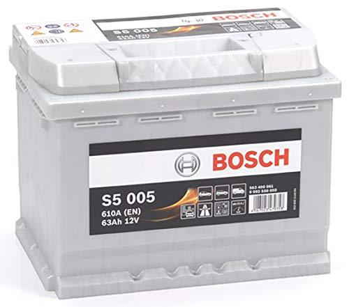 Bosch S5005 Batería de automóvil 63A/h-610A