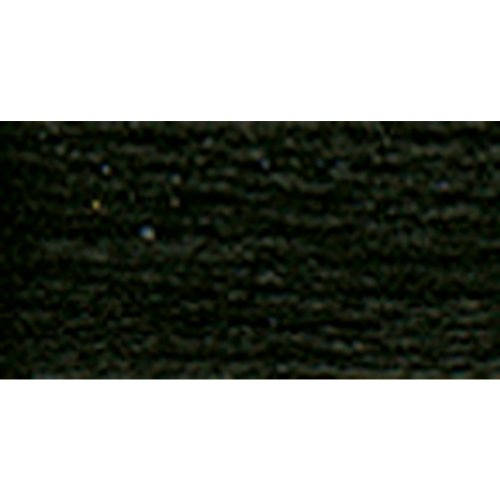 DMC 19-Noir Brilliant Tatting Cotton, 106-Yard, Size 80, Black