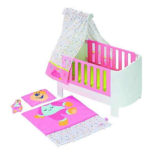 Zapf Creation 827420 BABY born Baby Care Magisches Himmelbett, Puppenbett mit Funktion für Puppen bis ca. 43 cm Größe, Puppenzubehör, bunt