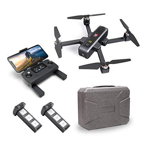 Euopat Drohne,MJX Bugs 4W Mini Drohne Mit HD Live Video WiFi Kamera, 4W Bugs 5G 4K DroneToy Quadcopter Für MJX, Gut Für Anfänger, Brushless Motor Optical Flow Global Positioning