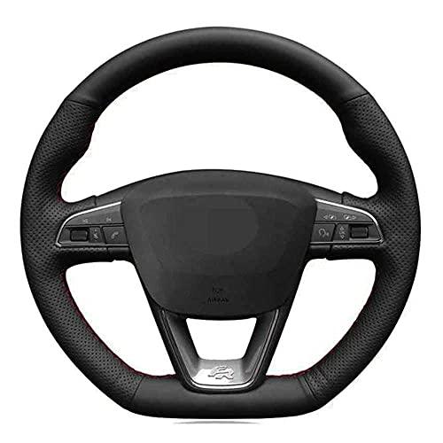 SAXTZDS Housse de Volant de Voiture, Convient pour Seat Leon Cupra Leon St Cupra Leon St Cupra Ateca Cupra Ateca FR