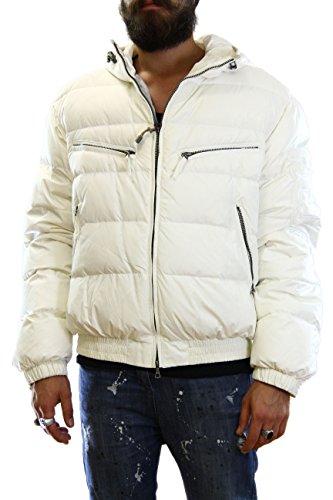 Kejo Gaiking Patch Goose Down Jacket White Daunenjacke mit XXL-Aufnäher