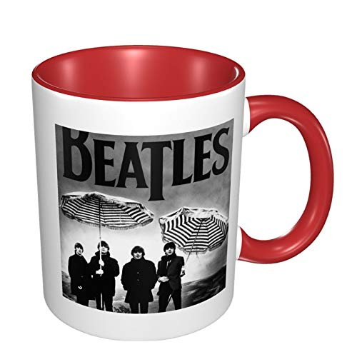 T-He-Beatles Music Ceramic Coffee Mug, Cup Tea Brewing Cups For Home Office 11.2 Oz