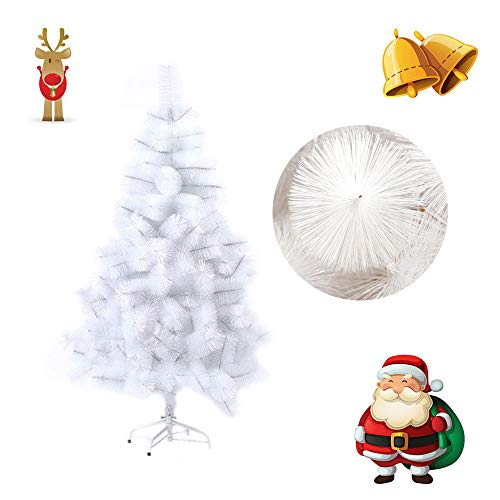 Froadp 210cm Agujas de Abeto Blanco Artificial Árbol de Navidad Abeja de Pino (Agujas de Abeto Blanco, 210cm)
