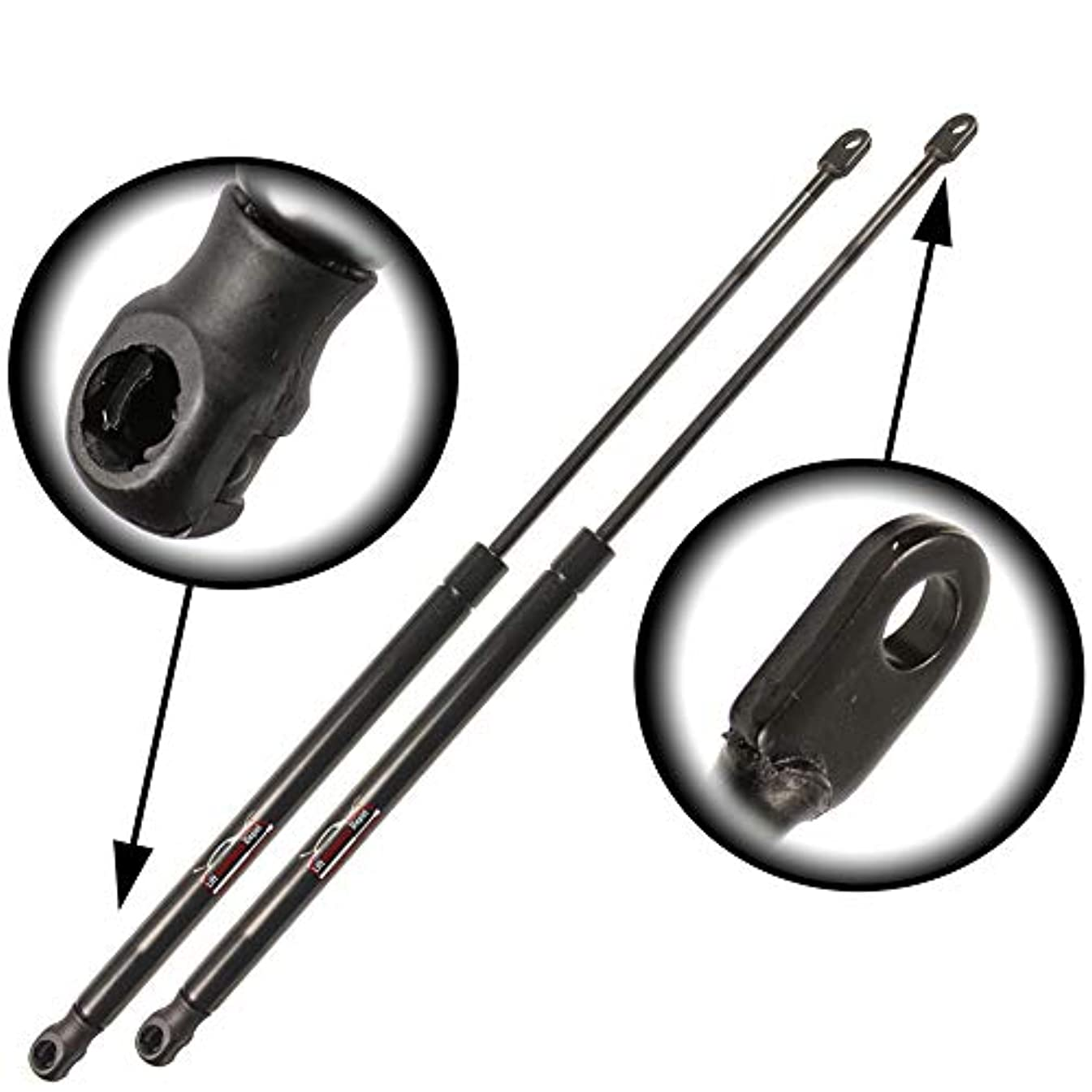 Qty (2) Fits VW Vanagon 1984 To 1991 Liftgate Lift Support (With Added Pressure)