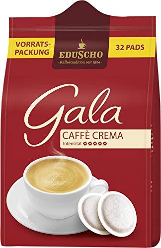 Eduscho Gala Kaffeepads, Caffe Crema 32 x 6,8 g