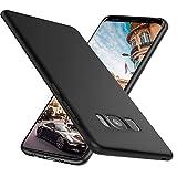 Ylife Kompatibel mit Samsung Galaxy S8 Hülle,Slim Schwarz