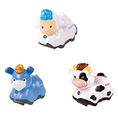 Vtech Baby 80-215329 - Tip Tap Tiere Set 5 - Kuh, Esel und Schaf