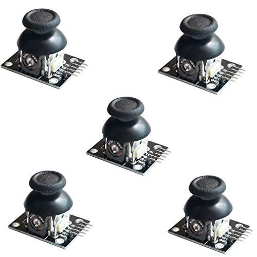 HiLetgo JoyStick Breakout-Modul für PS2 Arduino, 5 Stück