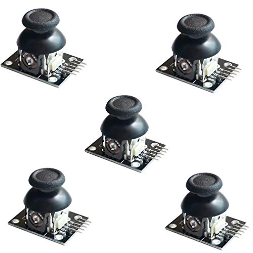 HiLetgo 5pcs Game Joystick Sensor Game Controller Sensor JoyStick Breakout Module for Arduino PS2 Raspberry Pi