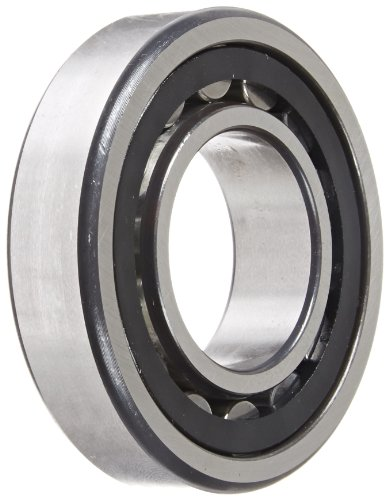 FAG NU207E-TVP2 Cylindrical Roller Bearing, Single Row, Straight Bore, Removable Inner Ring, High Capacity, Polyamide Cage, Normal Clearance, 35mm ID, 72mm OD, 17mm Width