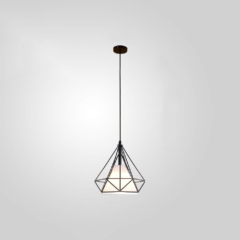 Tritow E27 3-Lights Eisen Kunst Nordic Einfache Kronleuchter Moderne Kreative Deckenleuchte Bar Pendent Lampe Restaurant Pendelleuchte Cafe Hngelampe (Gre   K)