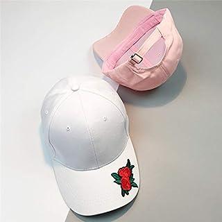 BEESCLOVER Baseball Cap Women's Men's Fashion Rose Adjustable Hats Snapback Summer Casual Hats Hip Hop Flat Caps F#J14