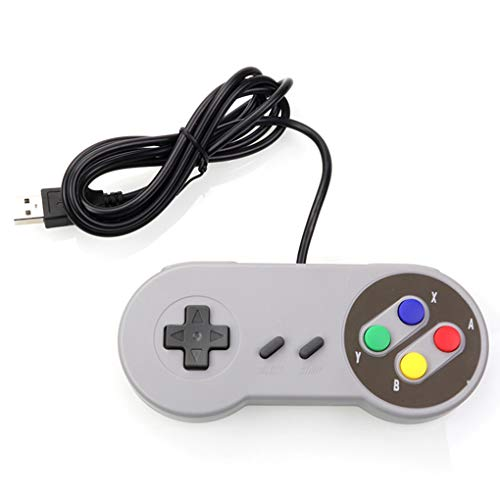 LYY Computer Control USB Controller Gaming Joystick Gamepad Controller Suitable for Nintendo SNES Game Pad for Windows PC for MAC
