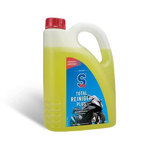 Dr. Wack - S100 Total Reiniger+ 2 L I Premium Motorrad-Reiniger für alle Motorräder I Hohe Ergiebigkeit & Reinigungswirkung I Hochwertige Motorradpflege – Made in Germany