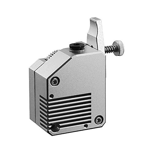Funien Extrusora BMG, Extrusora BMG de Metal Completo con Doble Engranaje, Soporte para Mano Izquierda, filamento Flexible Compatible con la Impresora 3D Creality CR-10 Series/Ender-3 Series
